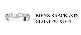 Men's Bracelets - Stainless Steel